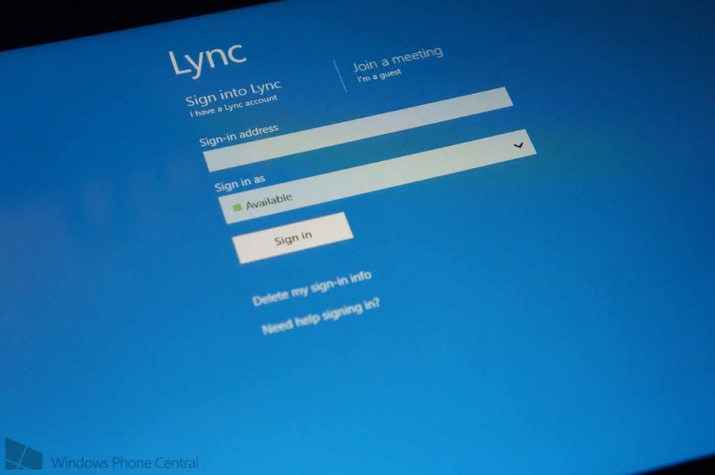 lync video conferencing