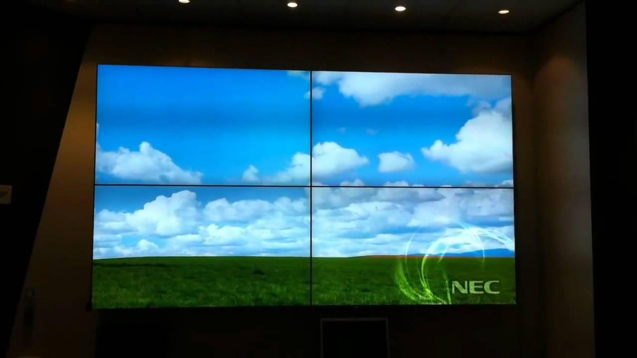 nec video wall displays