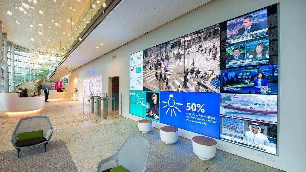 Philips Ultra Narrow Bezel Led Displays Philips Video